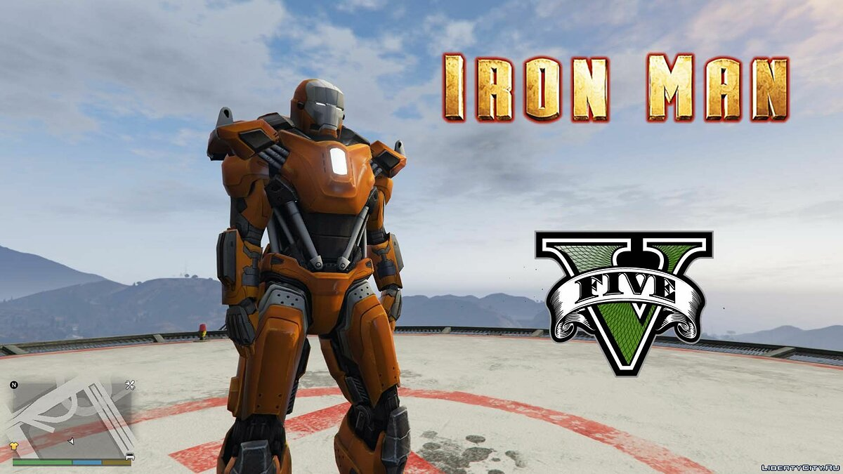 Iron Man Mark 36 Peacemaker [Add-On Ped] 1.0 для GTA 5