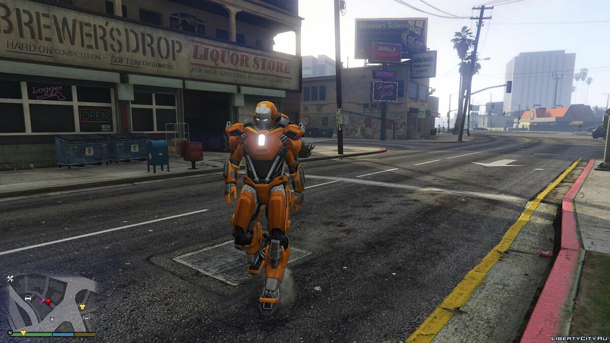 Iron Man Mark 36 Peacemaker [Add-On Ped] 1.0 для GTA 5 - скриншот #2