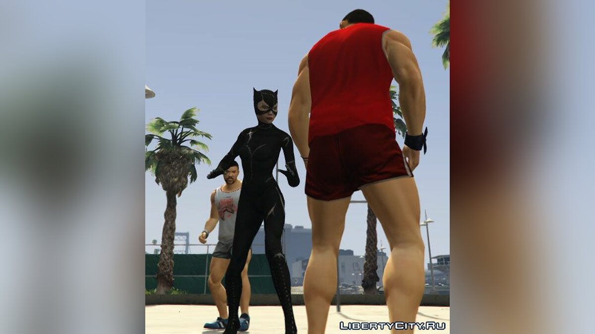 Catwoman - Batman Returns (1992) для GTA 5 - скриншот #7