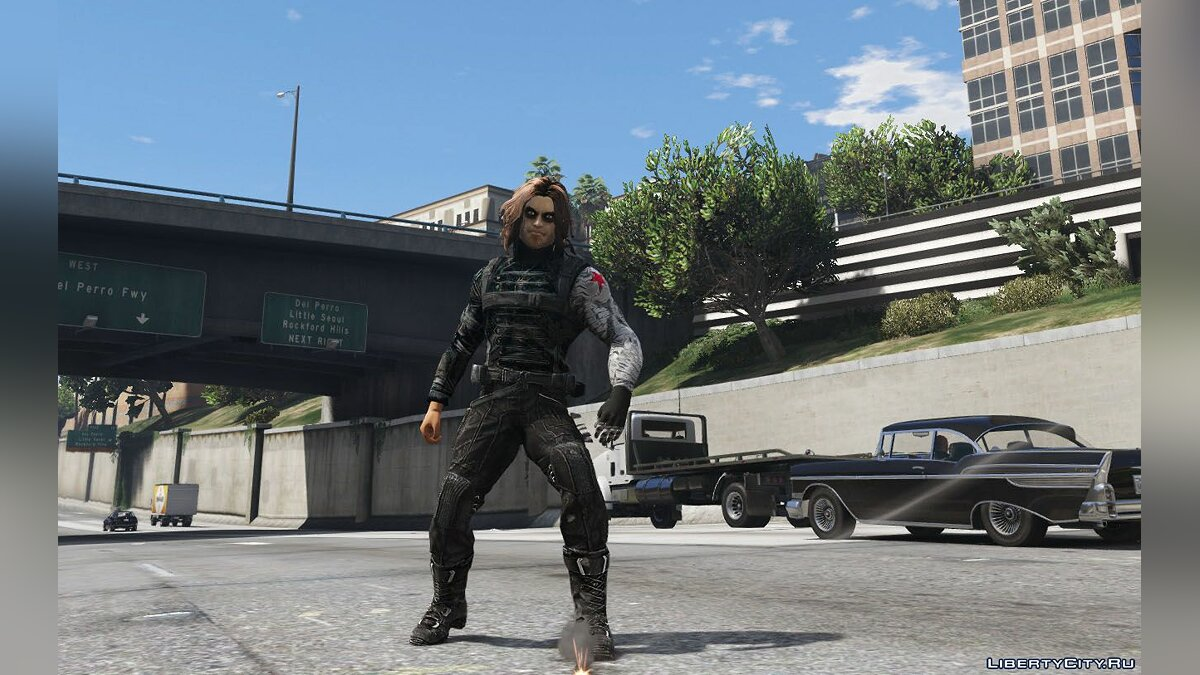 Winter Soldier для GTA 5