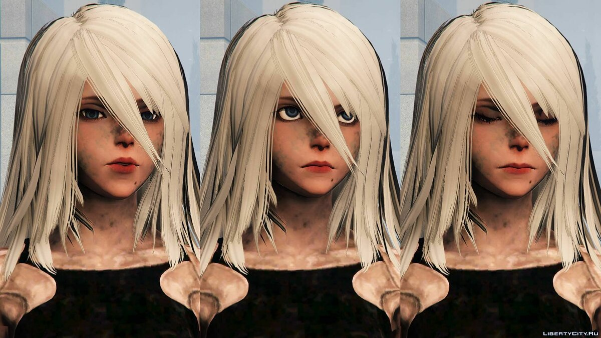 2B & A2 Nier:Automata [Add-On Ped / Replace] 1.0 для GTA 5 - скриншот #11