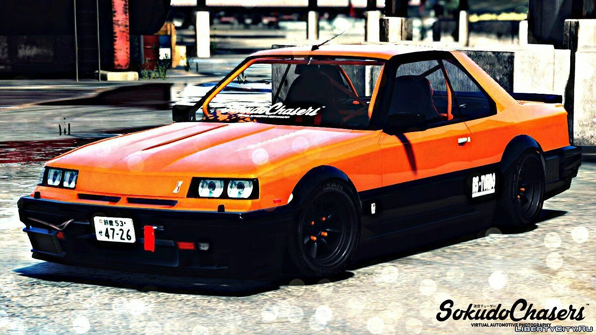 Машина Nissan Nissan Skyline RS-X R30 [Replace] для GTA 5