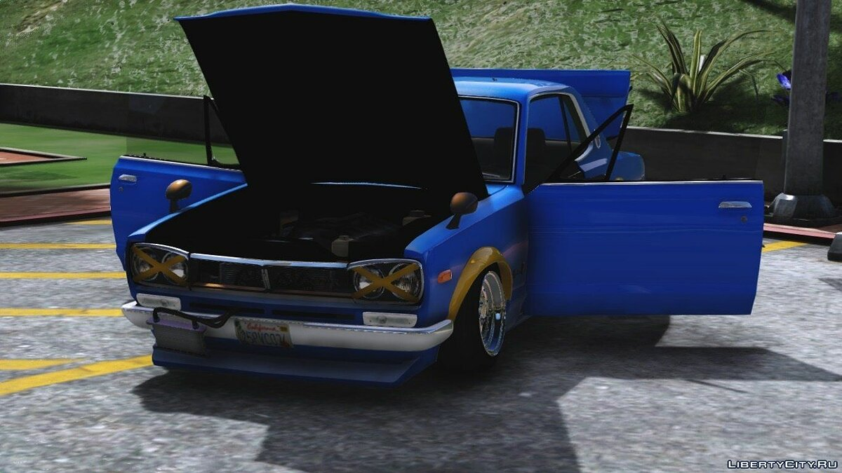 1971 Nissan Skyline KGC10 [Replace] для GTA 5 - скриншот #7
