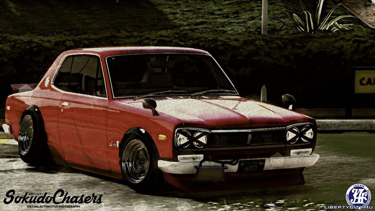1971 Nissan Skyline KGC10 [Replace] для GTA 5