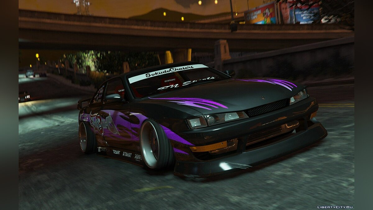 Nissan Silvia S14 Kouki BN Sports [Replace] для GTA 5