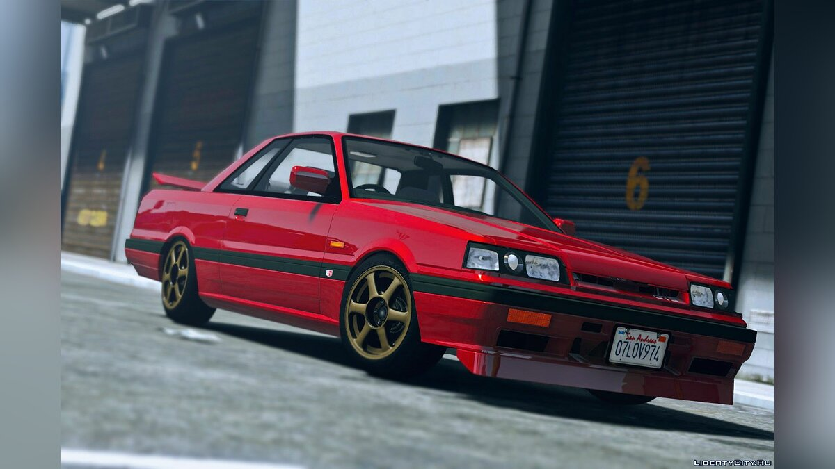 Машина Nissan 1987 Nissan Skyline GTS-R (R31) [Add-On | Tuning] 1.0 для GTA 5