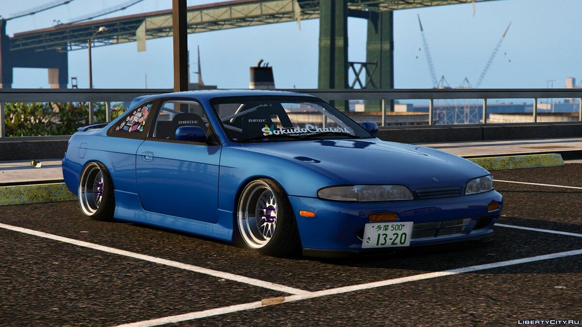 Nissan Silvia S14 Zenki Stance [Add-On | Tuning] 1.3 для GTA 5 - скриншот #5