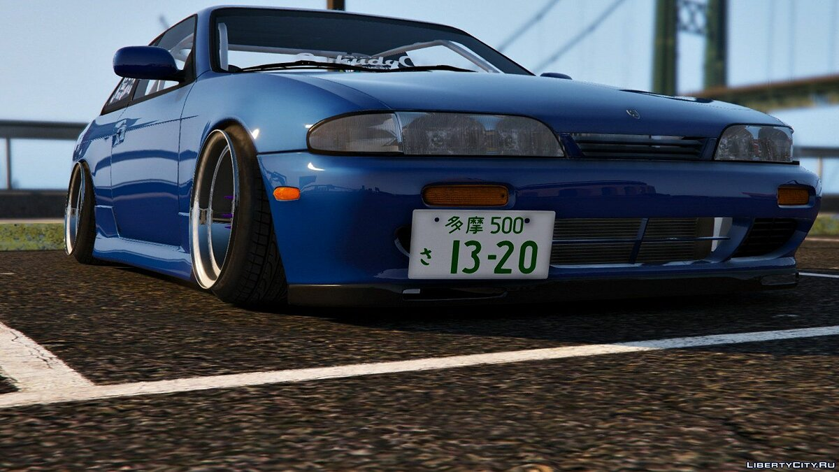 Nissan Silvia S14 Zenki Stance [Add-On | Tuning] 1.3 для GTA 5 - скриншот #7