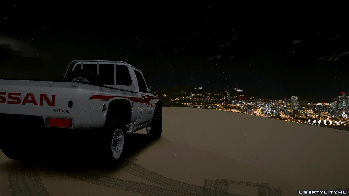 ��ашина Nissan Nissan Patrol VTC 2016 Pick-Up [Replace] 1.0 для GTA 5