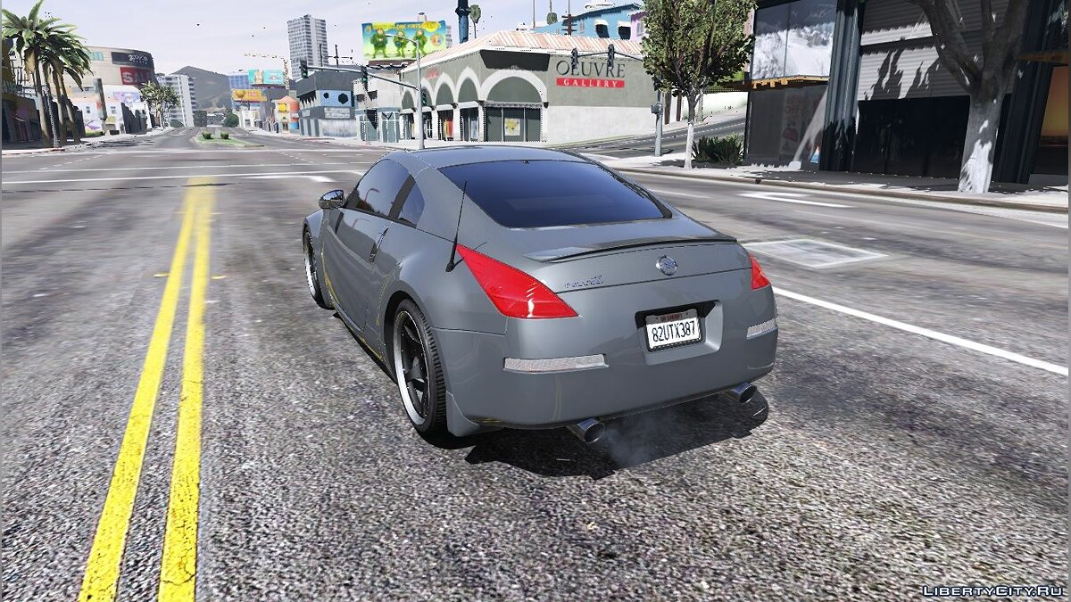 2003 Nissan 350z [Add-On / Replace | Tuning | Template] 1.1 для GTA 5 - скриншот #3