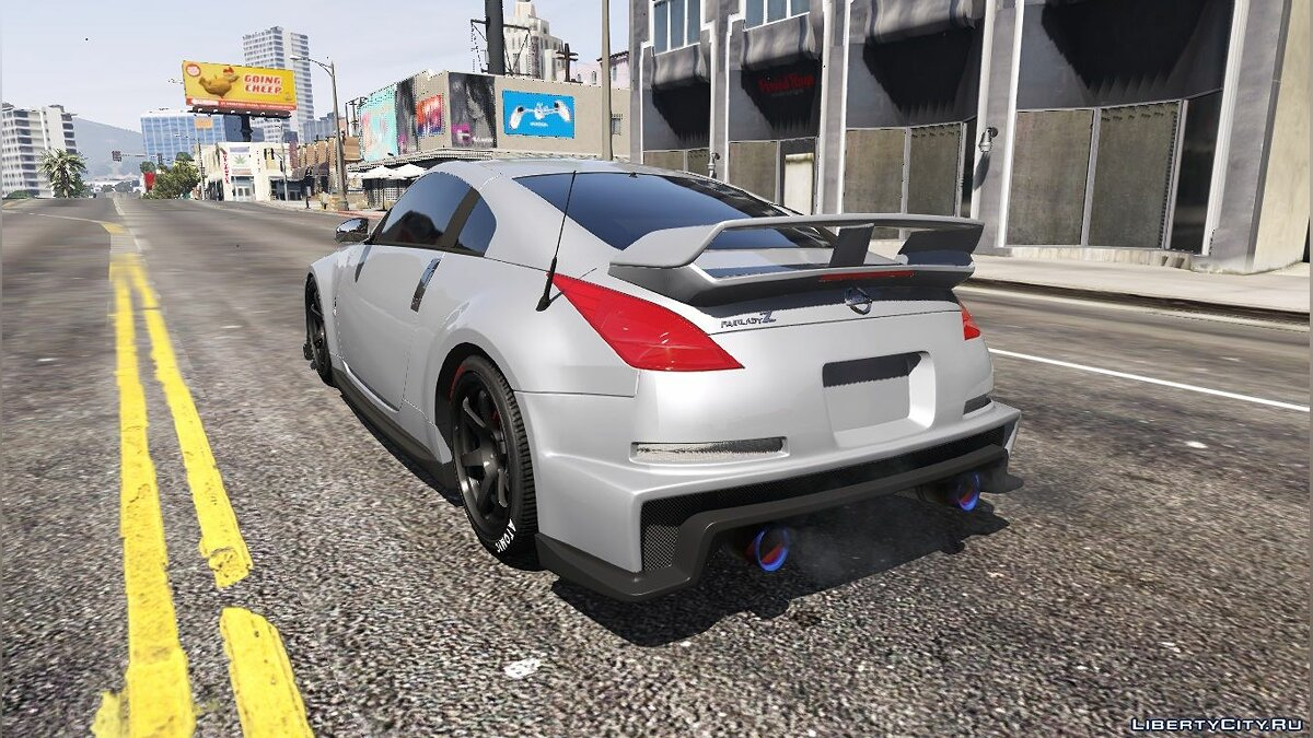 2003 Nissan 350z [Add-On / Replace | Tuning | Template] 1.1 для GTA 5 - скриншот #2