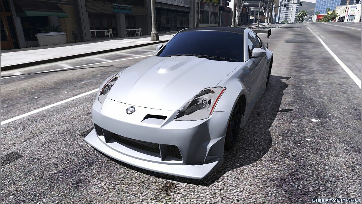 2003 Nissan 350z [Add-On / Replace | Tuning | Template] 1.1 для GTA 5