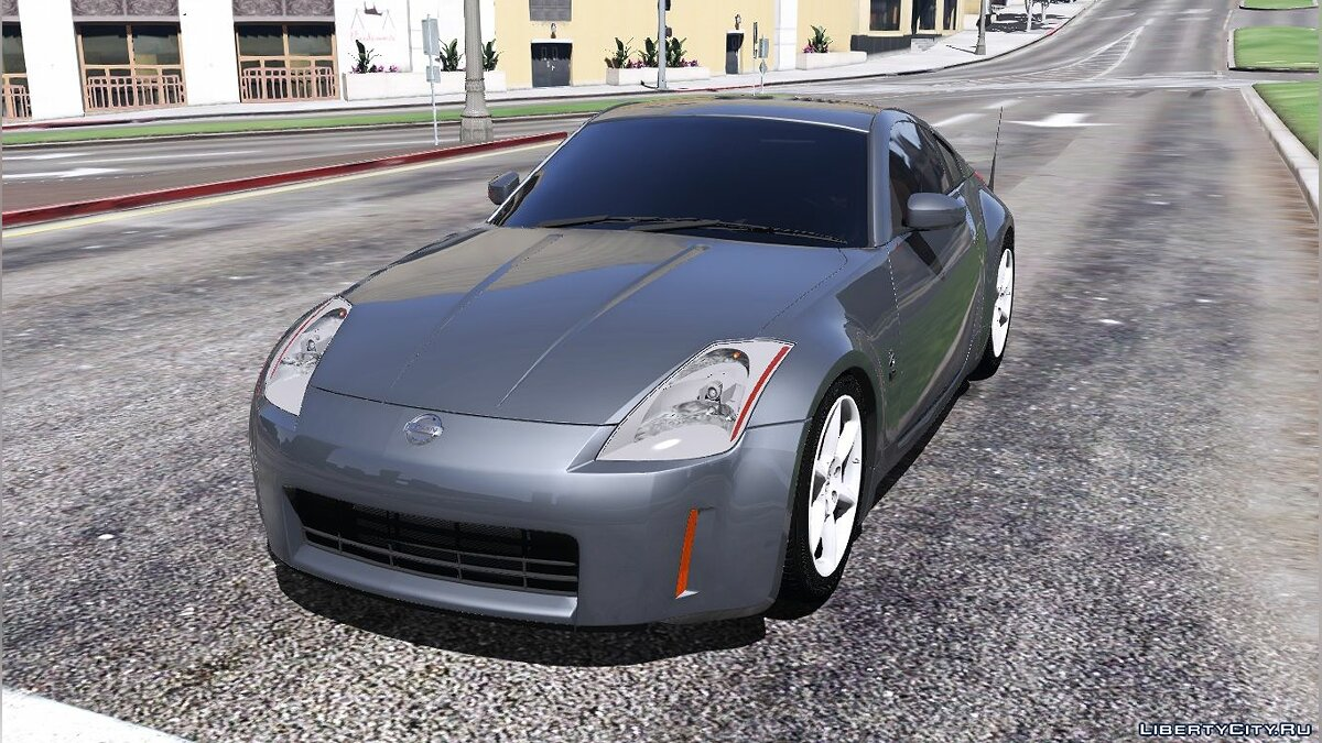 2003 Nissan 350z [Add-On / Replace | Tuning | Template] 1.1 для GTA 5 - скриншот #6