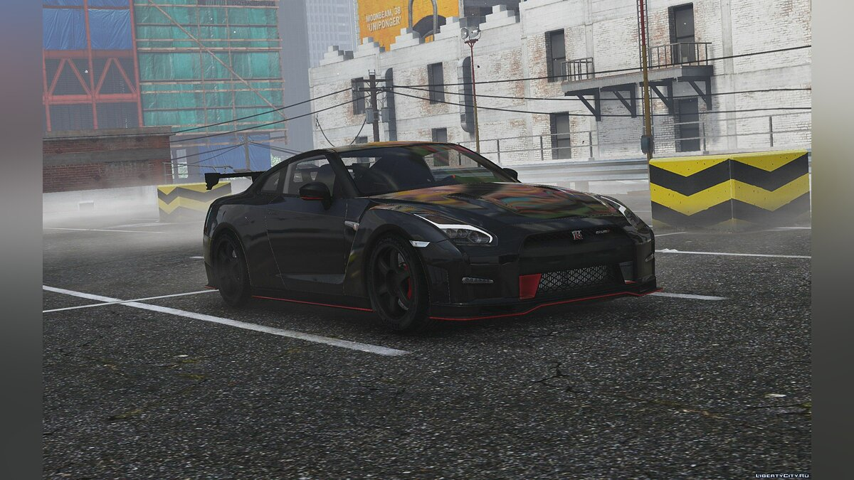 ��ашина Nissan 2015 Nissan GTR Nismo [ Add-On | HQ | Template ] .2 для GTA 5