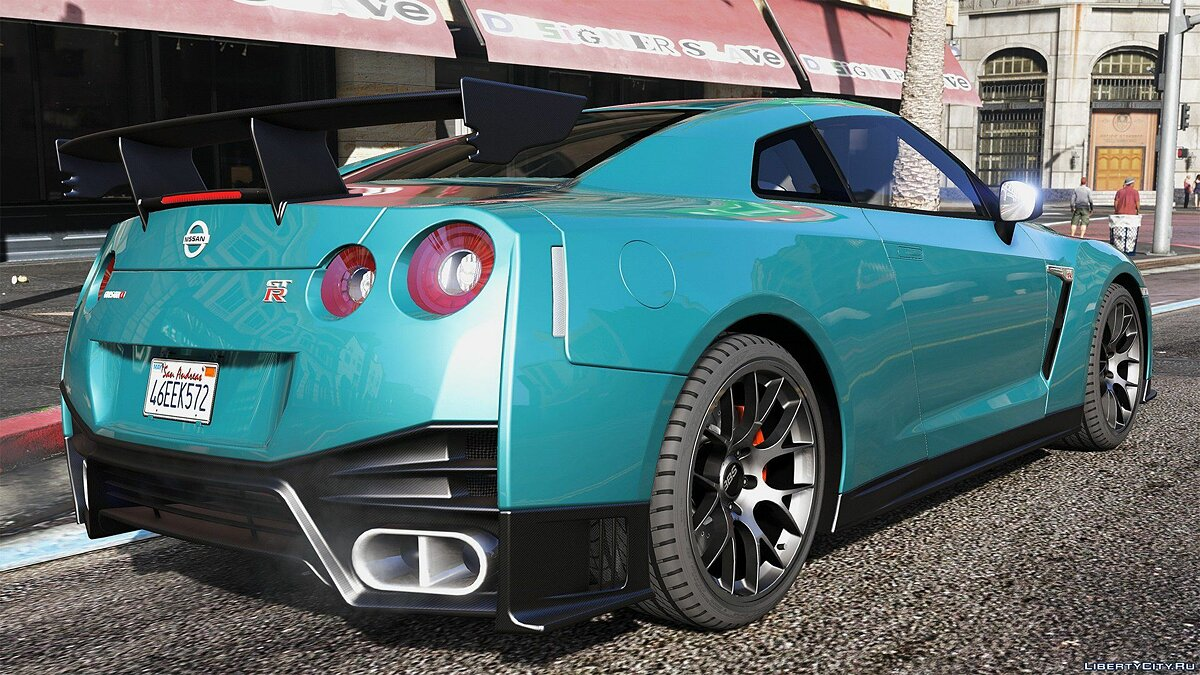 2015 Nissan GT-R 35 Nismo [Add-On / Replace | Animated] 1.1 для GTA 5 - скриншот #6