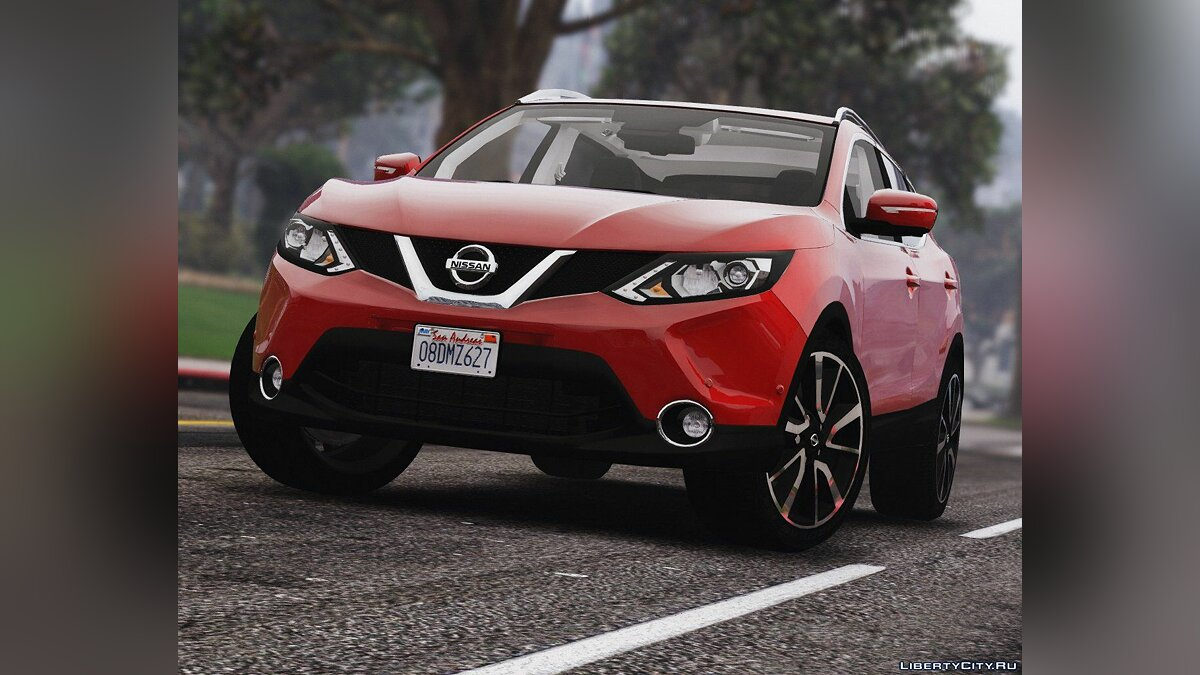 2016 Nissan Qashqai [Add-On] 2.0a для GTA 5
