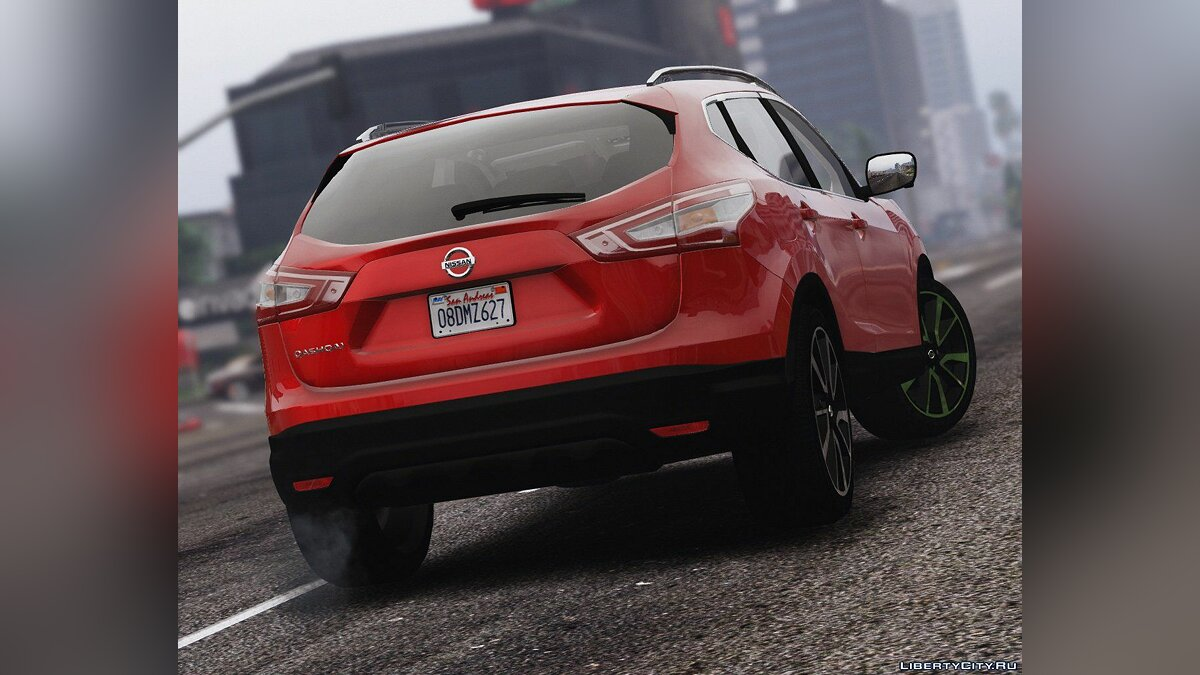 2016 Nissan Qashqai [Add-On] 2.0a для GTA 5 - скриншот #2