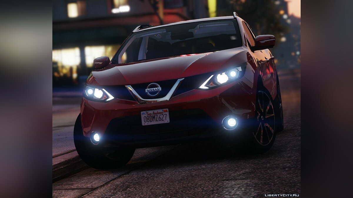 2016 Nissan Qashqai [Add-On] 2.0a для GTA 5 - скриншот #7