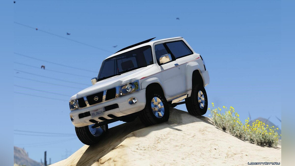 Nissan Patrol Safari VTC Y61 2016 2-door [Add-On | Replace | Livery | Extras | Template] 1.2 для GTA 5