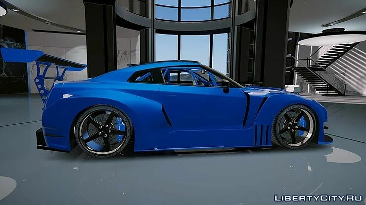 Nissan GT-R WideBodykit 1.0 для GTA 5 - скриншот #2