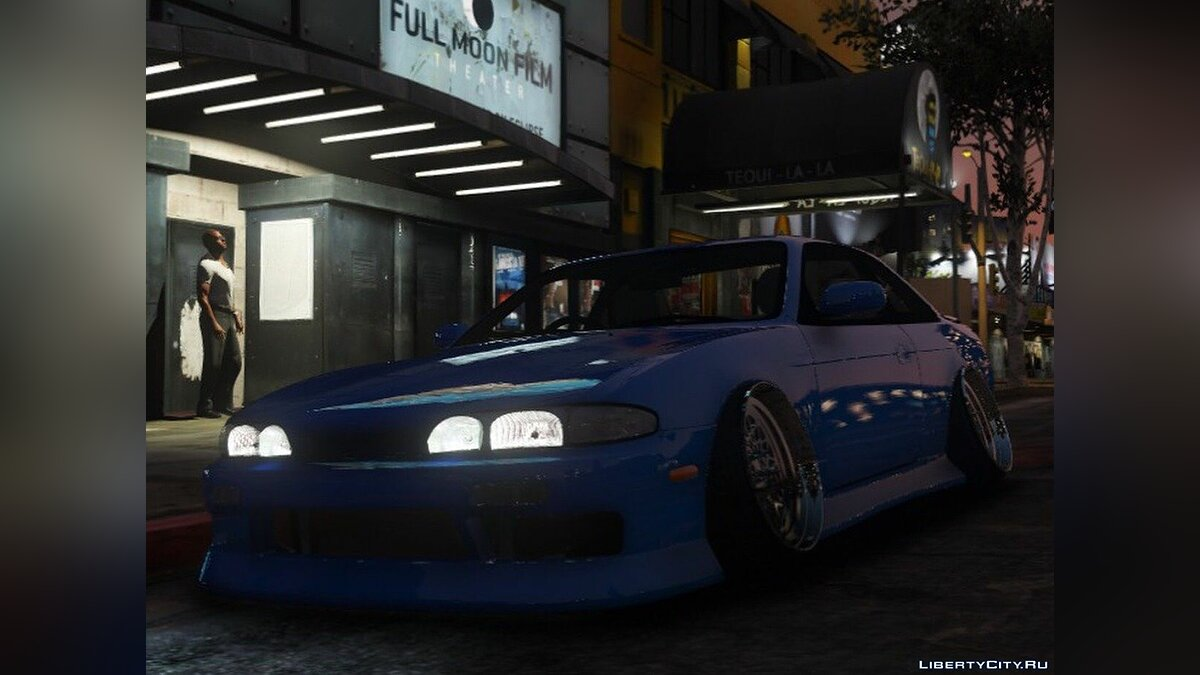 Машина Nissan 1994-1996 Nissan Silvia S14 Zenki {RHD | 150+ Tuning | Add-on} для GTA 5