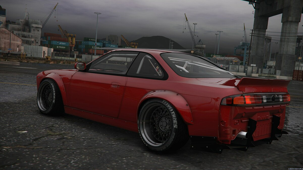 ��ашина Nissan Nissan Silvia Rocket Bunny V2 Boss(S14)|Add-on для GTA 5