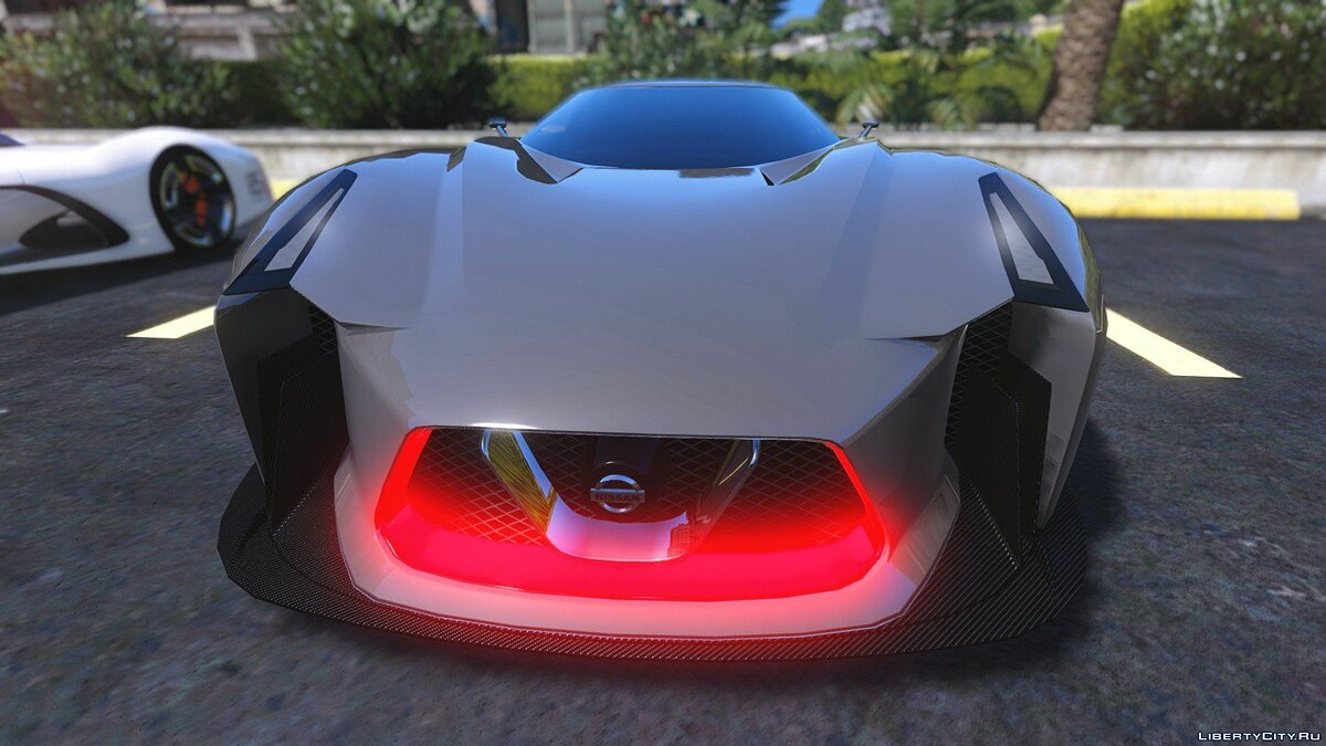 ��ашина Nissan Nissan 2020 Concept Vision GT [Add-On / Replace] 0.1 для GTA 5