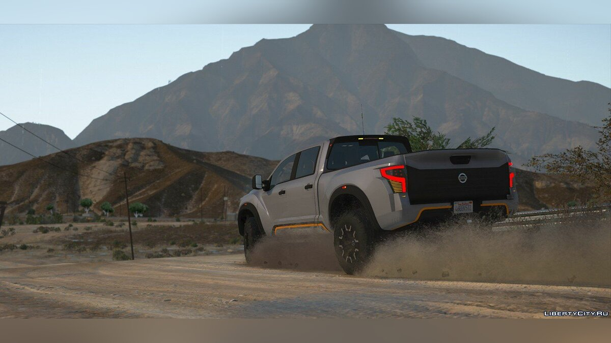 Машина Nissan Nissan Titan Warrior 2017 [Add-On | Replace | Livery | Extras | Template] 2.1 для GTA 5