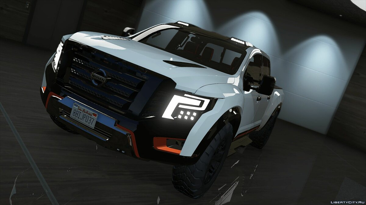 Машина Nissan Nissan Titan Warrior 2017 (Add-on/Replace) 1.0 для GTA 5