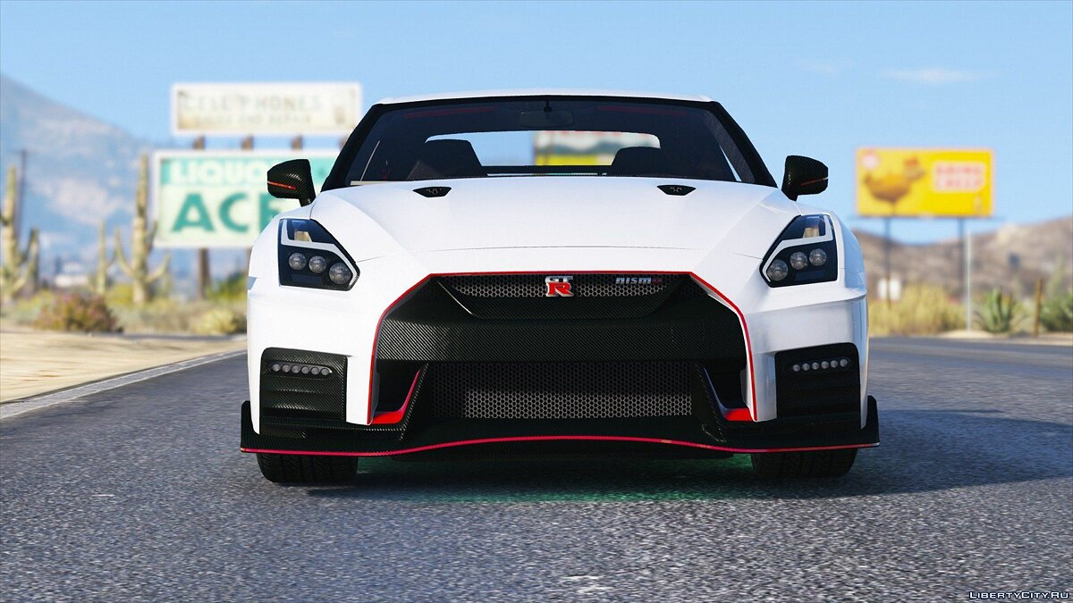 2017 Nissan GTR Nismo [Add-On / Replace] 1.0 для GTA 5 - скриншот #3