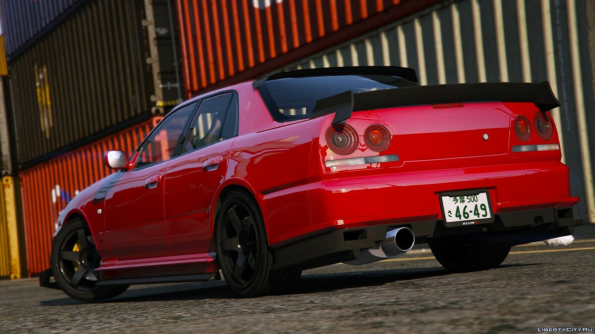 ��ашина Nissan BLITZ D1GP SKYLINE ER34 [Add-On | RHD] URAS D1 SPEC2 для GTA 5