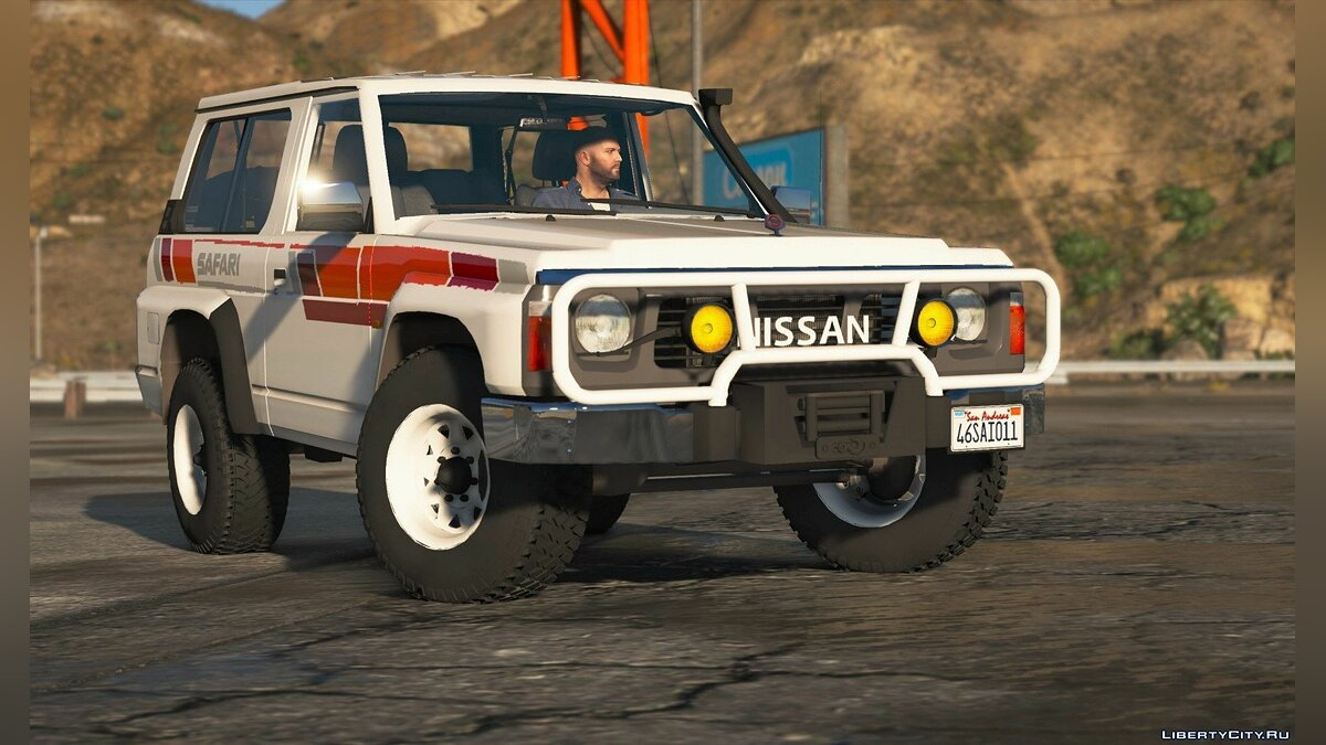 Nissan Patrol Super Safari Y60 1997 SWB [Add-On | Replace | Livery | Extras | Template | Tuning | Dirt] 1.0 для GTA 5 - скриншот #2