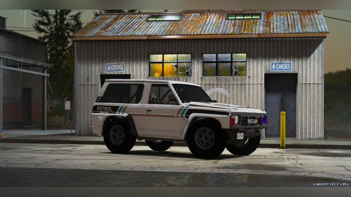 Nissan Patrol Super Safari Y60 1997 SWB [Add-On | Replace | Livery | Extras | Template | Tuning | Dirt] 1.0 для GTA 5 - скриншот #4