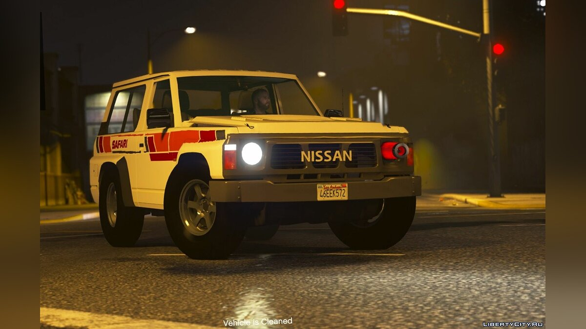Nissan Patrol Super Safari Y60 1997 SWB [Add-On | Replace | Livery | Extras | Template | Tuning | Dirt] 1.0 для GTA 5 - скриншот #5