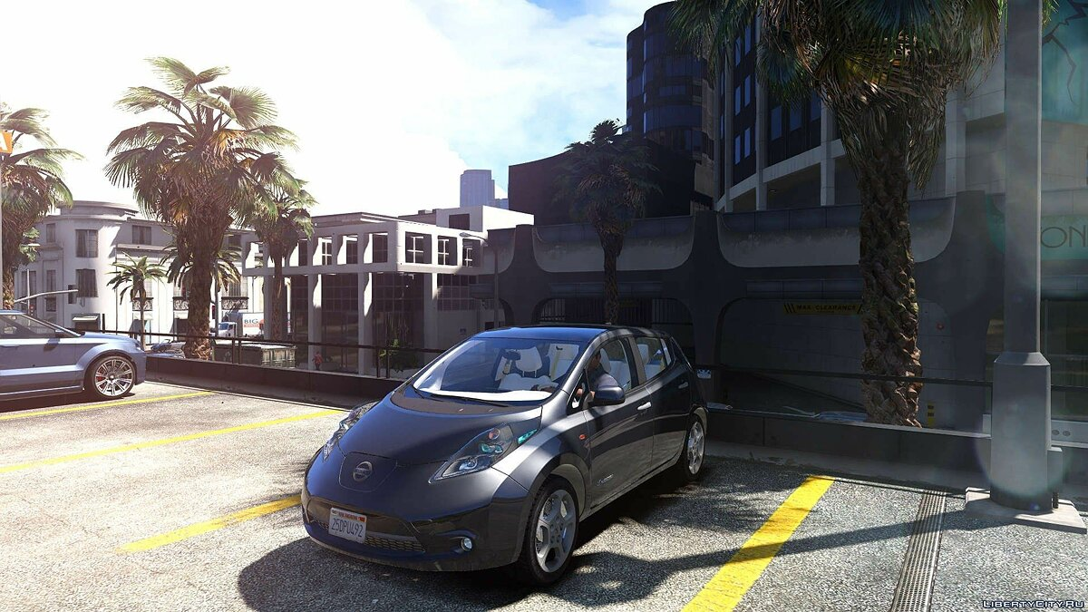 Nissan Leaf 2011 [Add-On / Replace] v1.0 для GTA 5