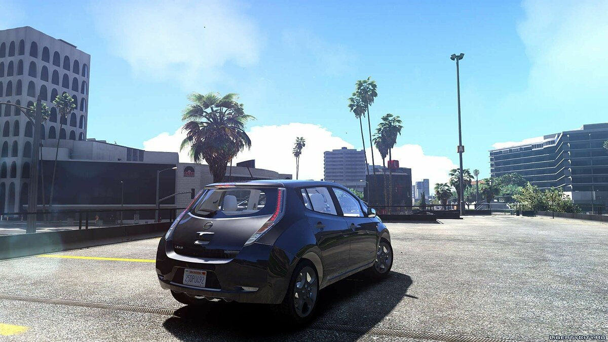 Nissan Leaf 2011 [Add-On / Replace] v1.0 для GTA 5 - скриншот #2