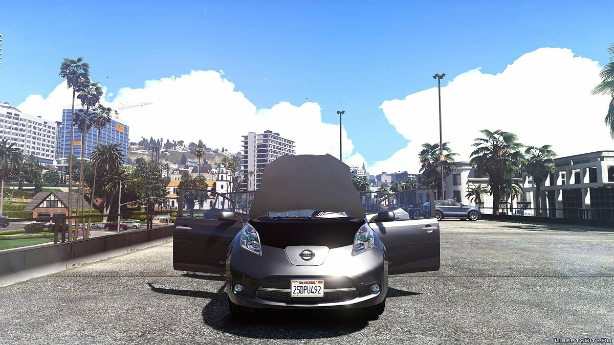 Nissan Leaf 2011 [Add-On / Replace] v1.0 для GTA 5 - скриншот #4
