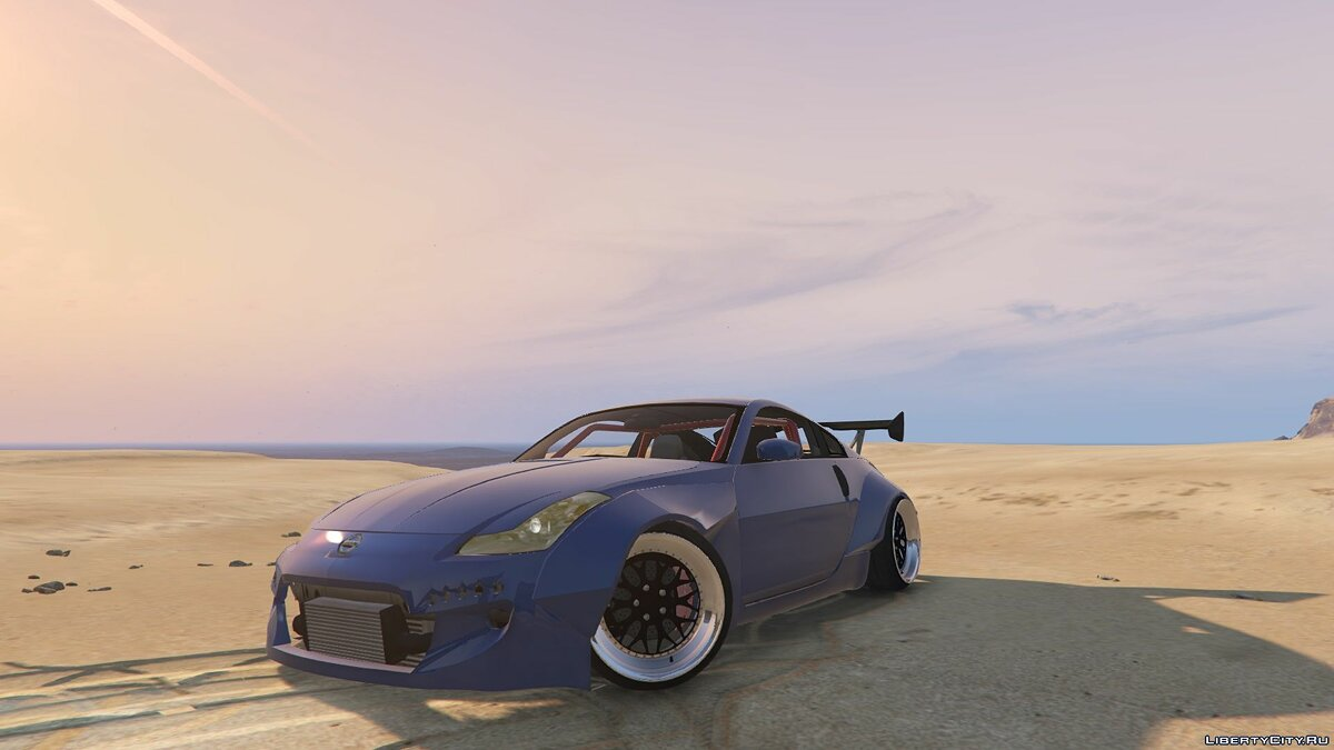 Машина Nissan Nissan 350Z Rocket bunny [Add-On / Replace] 1 для GTA 5