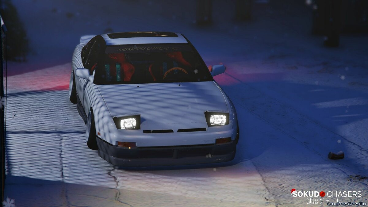 Nissan 180sx [Stanced | Pop-Up Lights] 1.1 для GTA 5 - скриншот #5