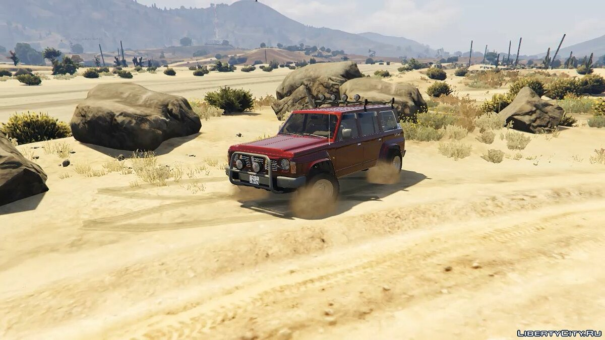 1992 Nissan Safari [Replace] 1.0 для GTA 5
