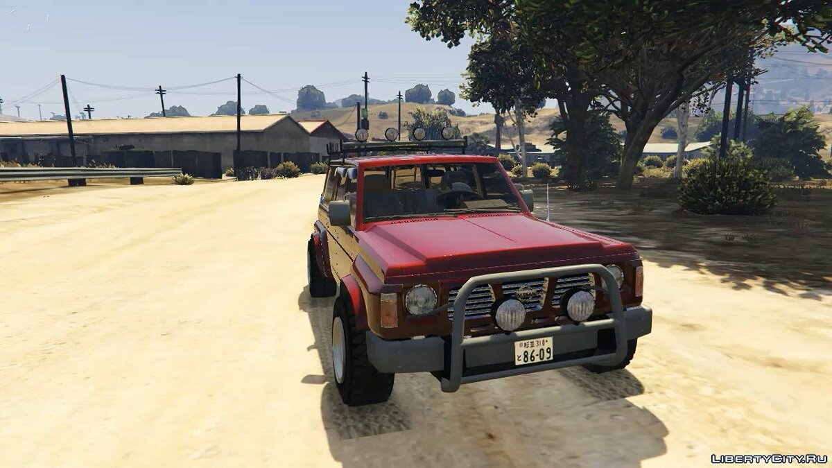 1992 Nissan Safari [Replace] 1.0 для GTA 5 - скриншот #3
