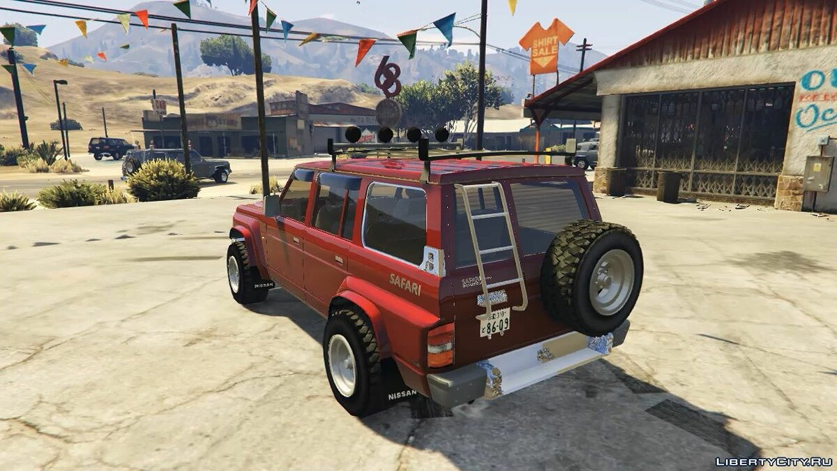 1992 Nissan Safari [Replace] 1.0 для GTA 5 - скриншот #4