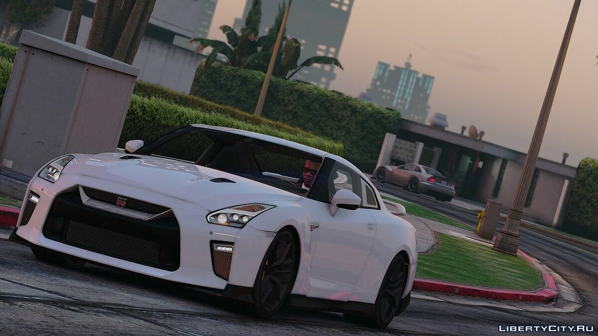Nissan GTR 2017 [Add-on | Tuning] 1.2 для GTA 5