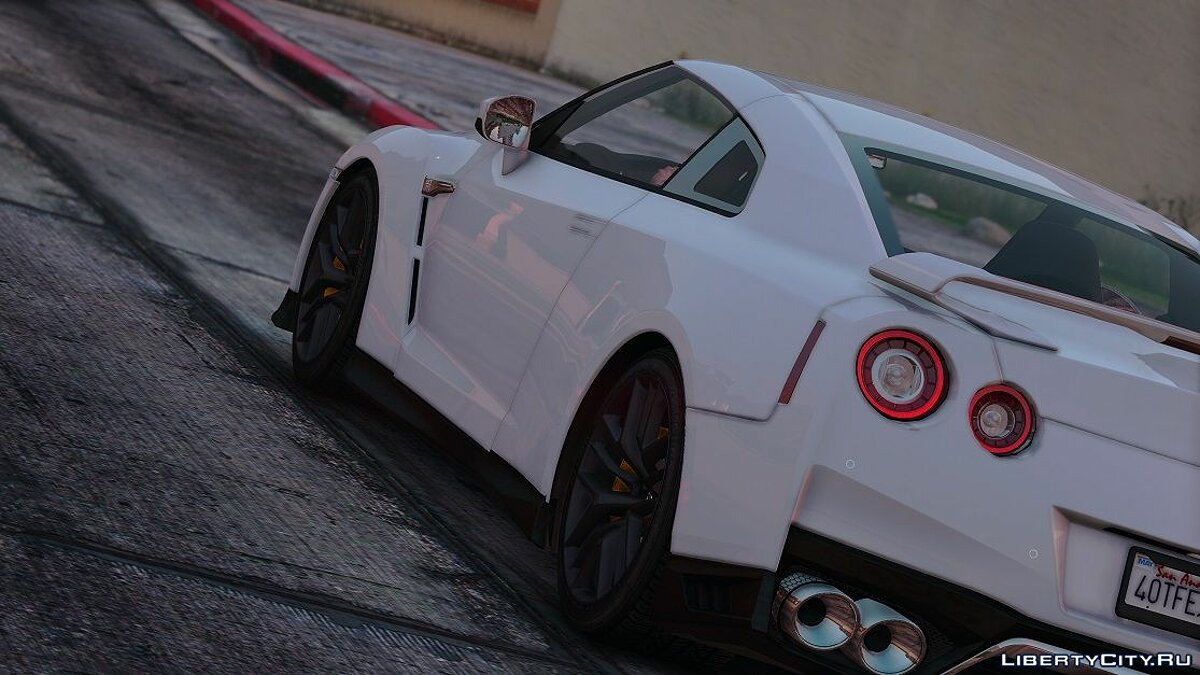 Nissan GTR 2017 [Add-on | Tuning] 1.2 для GTA 5 - скриншот #2