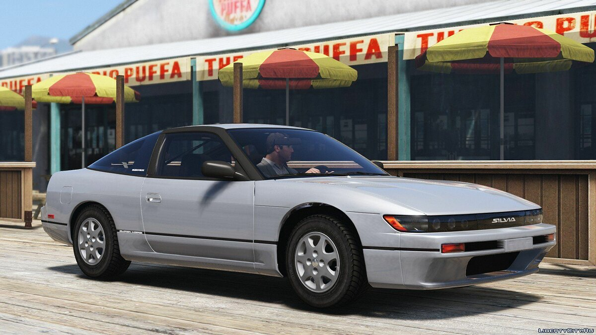 1992 Nissan Sileighty/Silforty [Replace] 1.0 для GTA 5