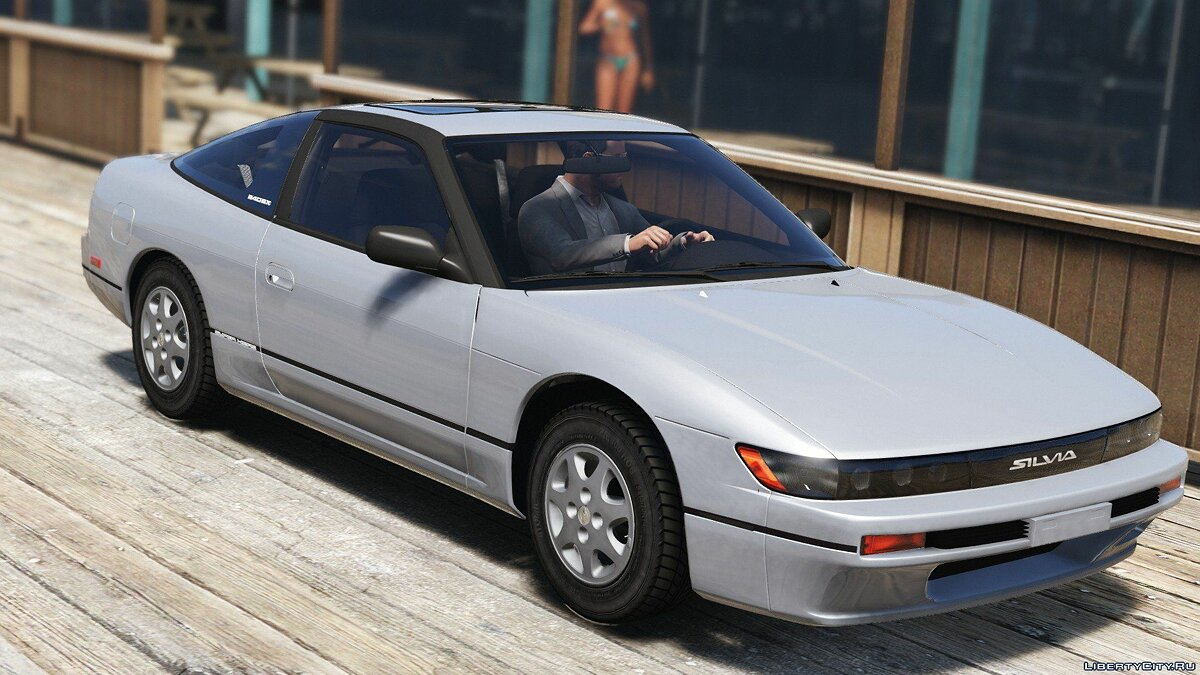 1992 Nissan Sileighty/Silforty [Replace] 1.0 для GTA 5 - скриншот #3