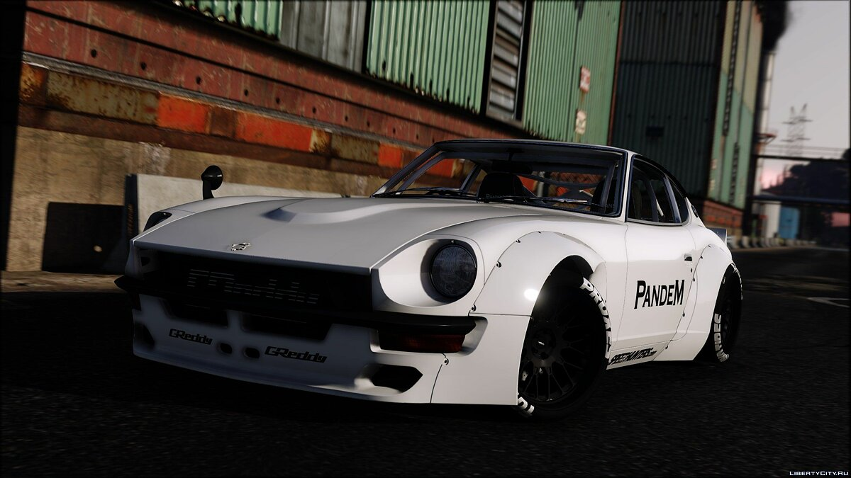 1969 Pandem Nissan S30 [Add-On | RHD | 4K Template] 1.3 для GTA 5