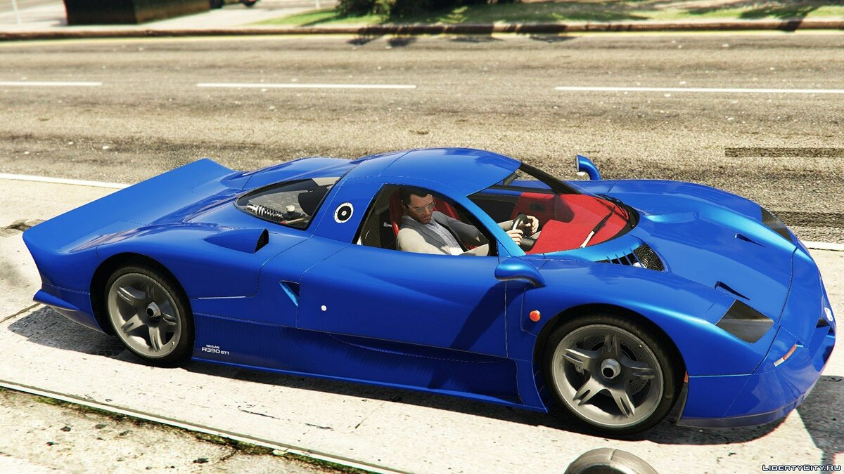 Nissan R390 Roadcar '98 [Replace] 1.0 для GTA 5
