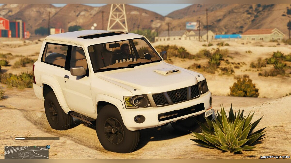 Nissan Patrol Safari VTC Turbo Y61 2016 2-door [Add-On | Replace | Livery | Extras | Template] 1.0 для GTA 5