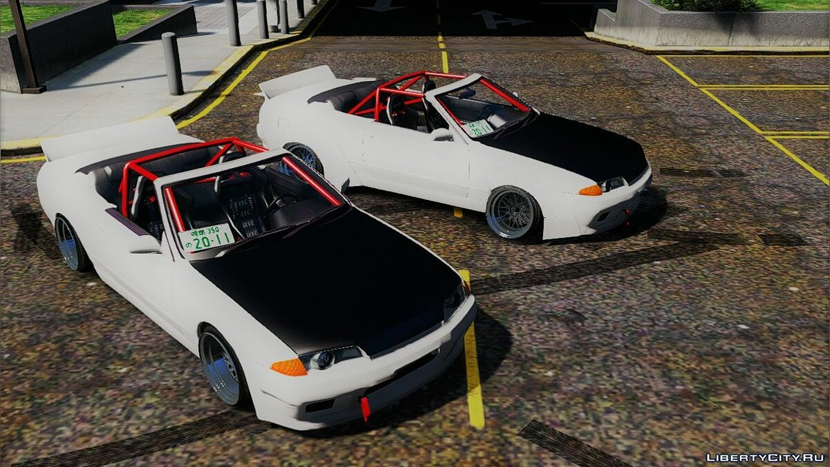 Машина Nissan Nissan Skyline R32 [Replace] 1.0 для GTA 5